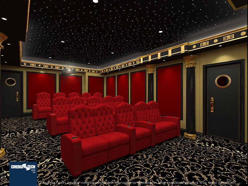 Designing a Home Theater? Mix Style & Quality With CinemaTech Seating