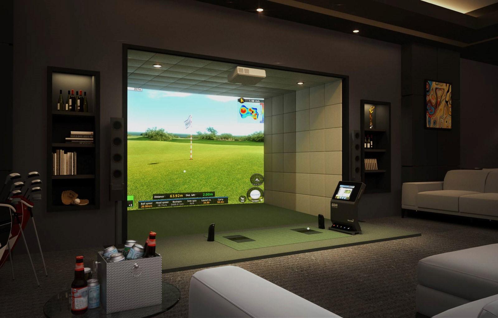 Incredible Golf Simulator Installation Charlotte Nc Interior Design Ideas Skatsoteloinfo